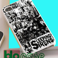 Sleeping With Sirens Collage For Iphone 4/4s, iPhone 5/5s, iPhone 5C, iphone 6, and iPhone 6 Plus Case