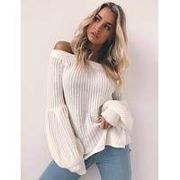 Knit Tops Winter Sweater [189416439834]
