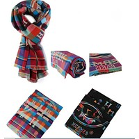 Hermes  Multicolor Fashion Women Winter Scarf  Blanket Scarf H-YH-FTMPF