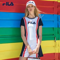 Fila Knitting Sports Casual Tee Dress