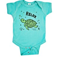 Relax! Sea Turtle Baby Onesuit
