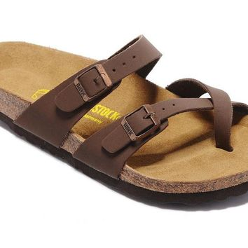 Men's and Women's BIRKENSTOCK sandals Mayari Birko-Flor 632632288-115