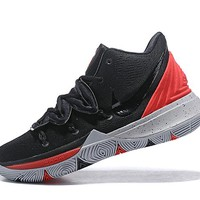 Nike Kyrie 5 Black/Red Basketball Shoes