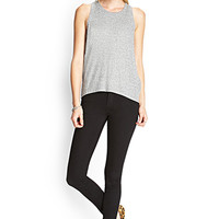 FOREVER 21 PLUS Favorite Skinny Jeans Black