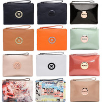 Supernatural Lovely mimco Medium Pouch Women sleek travel purse Clutch wallet signature MIMCO badge charm