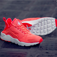 Nike Wmns Air Huarache Run Ultra Sports shoes Orange