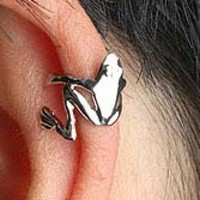 The Frog Prince Hugging Ear Cuffs  from LilyFair Jewelry