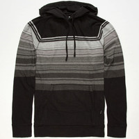 Rip Curl Top Notch Mens Lightweight Hoodie Black  In Sizes