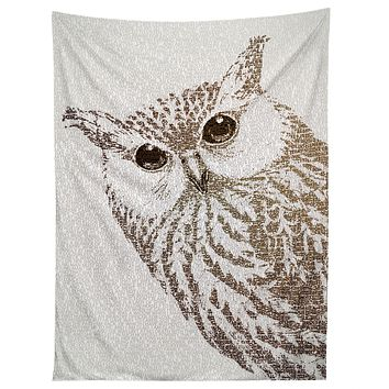 Belle13 The Intellectual Owl Tapestry