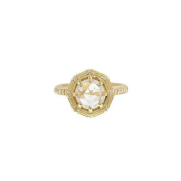 Eight Sided Geo Ring