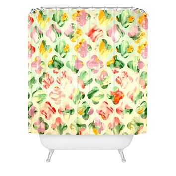 Arcturus Clover Round Shower Curtain