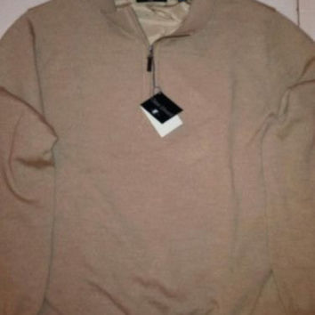 Chase Edward Men's Italian Merino Wool Golf Sweater