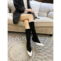 Givenchy  Women Casual Shoes Boots popularable casual leather Women Heels Sandal Shoes