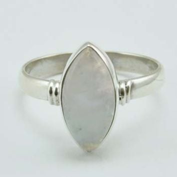 Eclipse Moonstone Ring