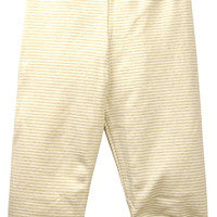 Knitted Stripe Pants - Brown Stripes