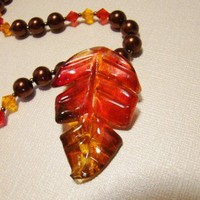 AUTUMN FIRE NECKLACE 2957