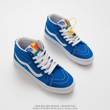 VANS Sk8-Mid Reissue cheap mens and womens vans Skateboard shoes