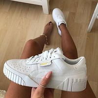 PUMA CALI Low-top White Sneakers Sport Shoes