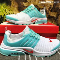 NIKE AIR PRESTO Net Surface Liht Running Shoes Mint Green
