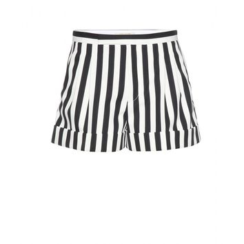 marc jacobs - striped tailored shorts