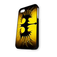 Yellow Batman Logo iPhone 4/4S Case