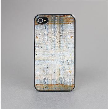The Painted Grunge Rusted Panel Skin-Sert for the Apple iPhone 4-4s Skin-Sert Case