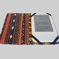 Kindle Cover Hardcover Kindle Case Nook Cover Nexus 7 Cover Nexus 7 Case Custom eReader Cover Tribal