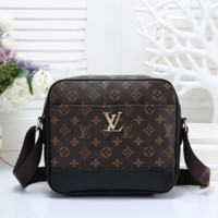 Louis Vuitton Fashion Leather Satchel Bag Shoulder Bag Crossbody