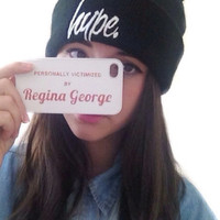 Personally Victimized by Regina George Phone Case - Mean Girls Inspired