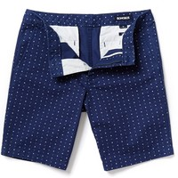 Washed Chino Short - Triple Dot Print - 9 in