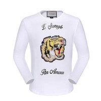 One-nice™ GUCCI HOT SALE Round neck letters printed long sleeve sweater tiger