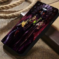 Disney Villains The Throne Contenders Custom Wallet iPhone 4/4s 5 5s 5c 6 6plus 7 and Samsung Galaxy s3 s4 s5 s6 s7 case