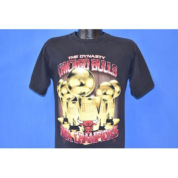 90s Chicago Bulls The Dynasty Champions t-shirt Youth Extra Large