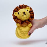 Lion Amigurumi, Lion Plush, Lion Toy, Lion Plushie, Lion Stuffed Toy, Baby Lion Plush, Crochet Lion, Lion Doll, Handmade Lion