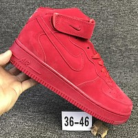 Metoo Nike Air Force 1 Mid For Christmas AF1 Running Sport Casual Shoes 315123-609 Sne