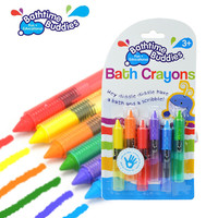 Safe Baby Kids Bathtime Crayons Drawing Toy Bath Playing Early Educational Toys juguetes brinquedos jouet de bain