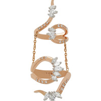 Round and Marquise Double Ring | Moda Operandi