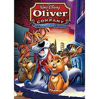 Oliver and Company DVD   Disney Store