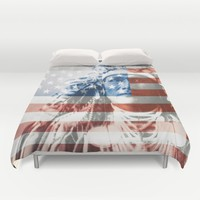 Native Americans in the United States Duvet Cover by Jbjart