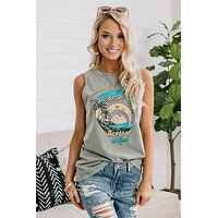Sunshine State Of Mind Graphic Tank Top
