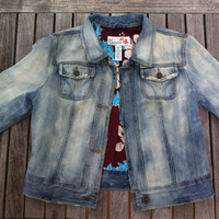 Vintage Hollister Acid Wash Denim Jacket