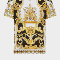 Versace Barocco SS'92 Print T-Shirt for Men | US Online Store