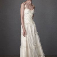 Dappled Alabaster Sheath in  the SHOP Attire Gowns at BHLDN