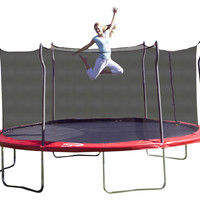 15 Foot Propel Outdoor Trampoline with Enclosure