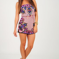 You Belong With Me Romper: Multi