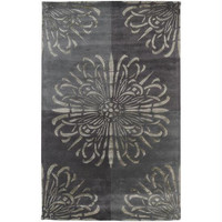 Area Rug - 5' X 8' - Colors Include Elephant Gray, Charcoal Gray,oyster Gray