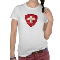Coat of Arms of Switzerland Tee Shirts