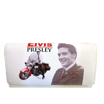 Licensed Elvis Presley Motorcycle Wallet