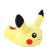 Pokemon Pikachu Plush Slippers