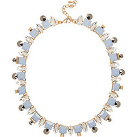 River Island Womens Blue pretty crystal necklace